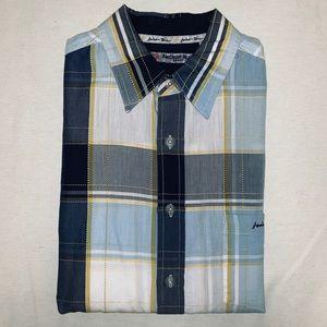Men's Anchor Blue Shirt
